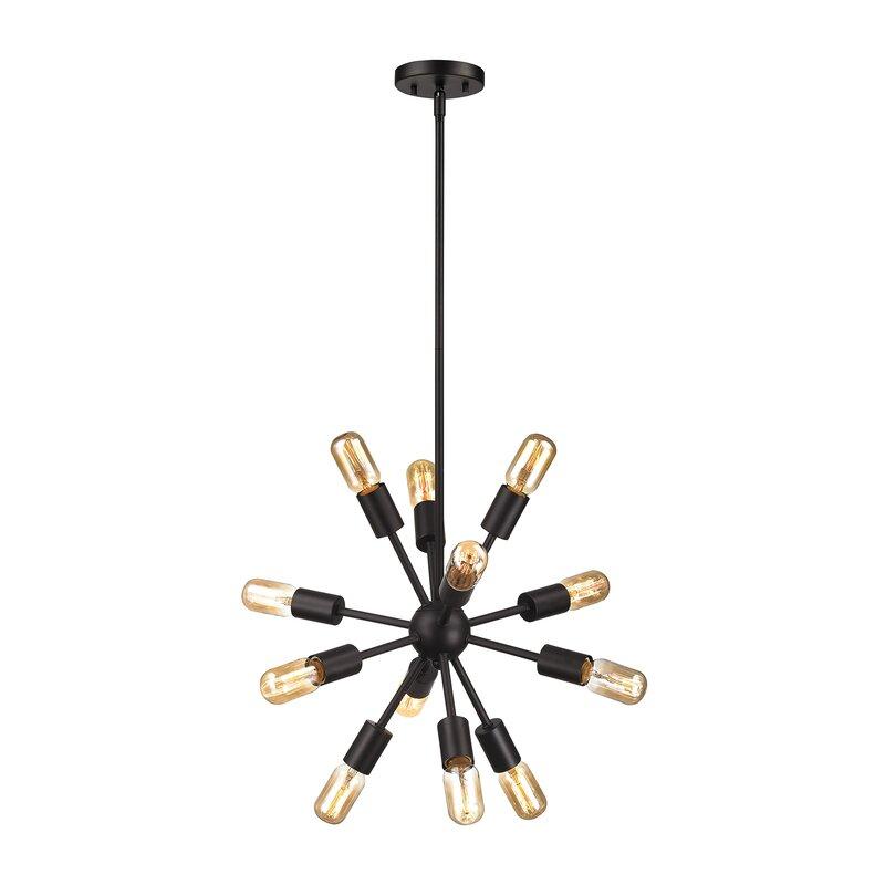 Langley street koolhaas 12 light mini chandelier reviews wayfair koolhaas 12 light mini chandelier aloadofball Gallery