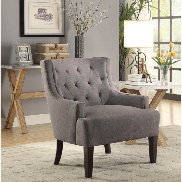 Leeman Wingback Chair by Alcott Hill