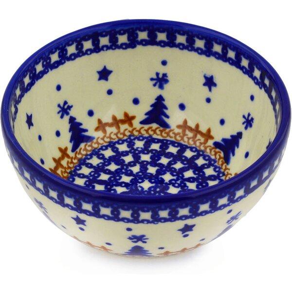 Winter Snow Rice Bowl by Polmedia
