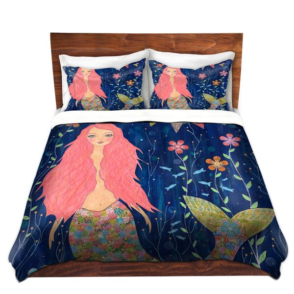 Benitez Pink Mermaid Duvet Set