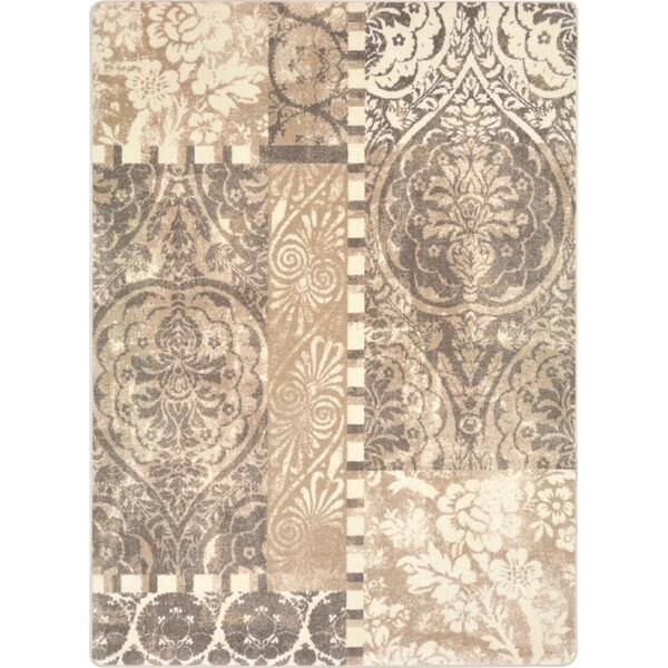 Belding Hand Woven French Cream Area Rug by Fleur De Lis Living