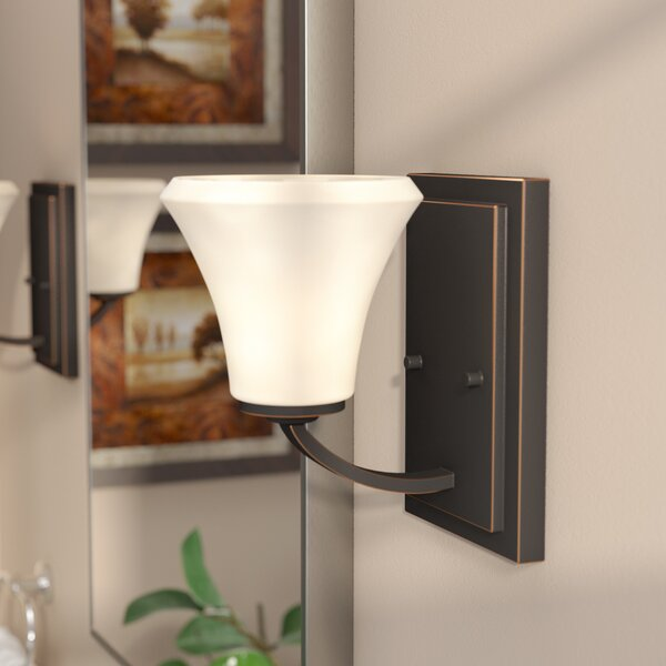 Olsson 1-Light Bath Sconce by Andover Mills