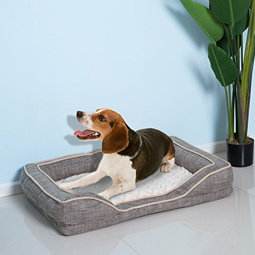 Gabilan Deluxe Cushioned Rectangular Bolster by Tucker Murphy Pet