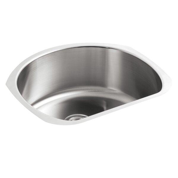 McAllister 23.63 L x 21 W Undermount Single Bowl Kitchen Sink by Kohler