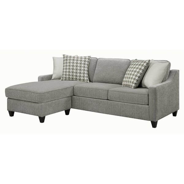 Steeves Sectional by Gracie Oaks