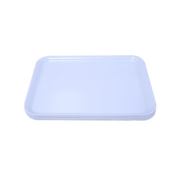 Melamine Serving Tray (Set of 6) by Shall Housewares International
