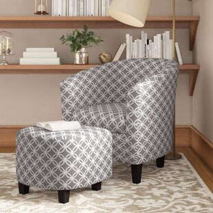 Tempest Barrel Chair And Ottoman