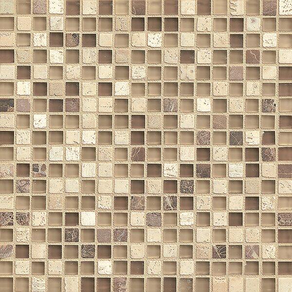 Carlisle 12 x 12 Stone Mosaic Blend Tile in Tenby by Grayson Martin