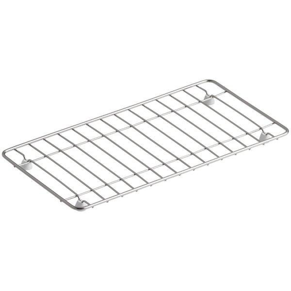 Undertone Stainless Steel Sink Rack, 15-3/16 x 7-11/16 by Kohler