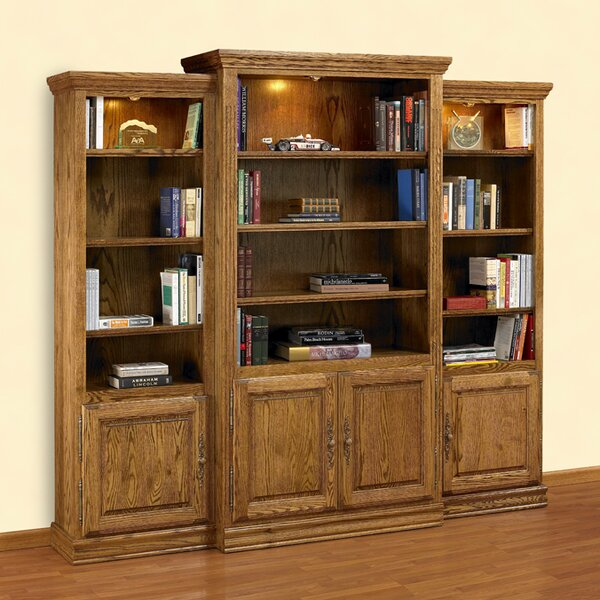 Britania Heirloom Oversized Set Bookcase by A&E Wood Designs