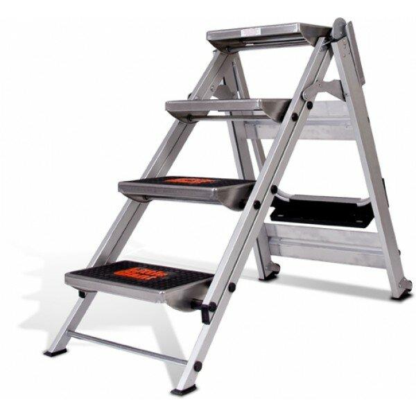 Little Giant Ladder 4.58 Ft Aluminum Safety Step Ladder