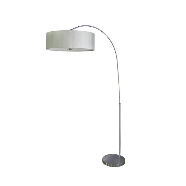 Telles 67 Arched Floor Lamp by Brayden Studio