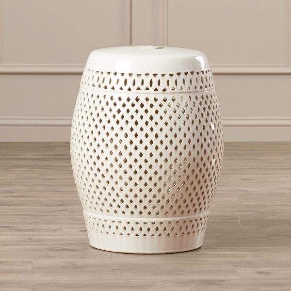Rivera Ceramic Garden Stool by Willa Arlo Interiors