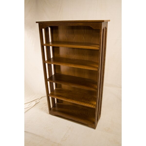 Nikhil 3 Shelf Spindle Standard Bookcase By Loon Peak