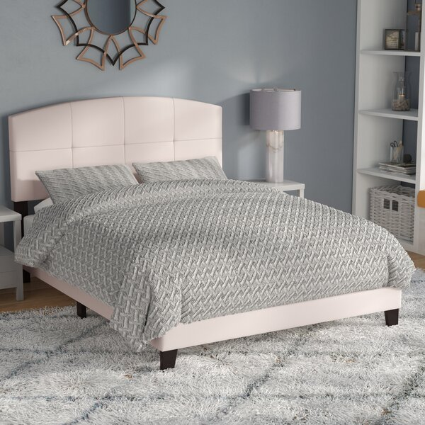 Leblanc Upholstered Standard Bed by Wrought Studio