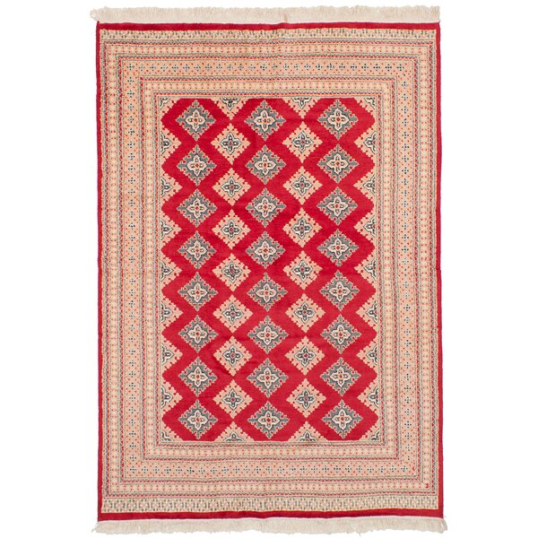 One-of-a-Kind Do Hand-Knotted Wool Red Area Rug by Isabelline