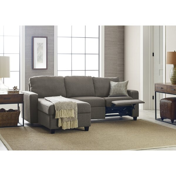 Shop Up And Coming Designers Palisades Reclining Sectional by Serta at Home by Serta at Home