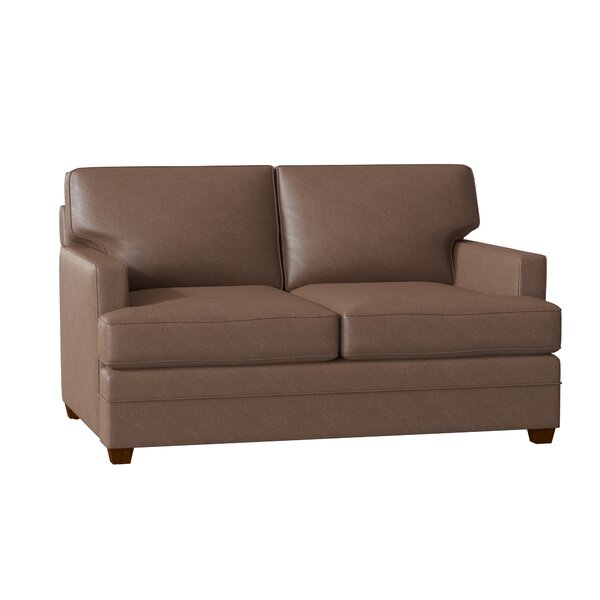 Living Your Way Squared Loveseat by Wayfair Custom Upholstery Wayfair Custom Upholstery™