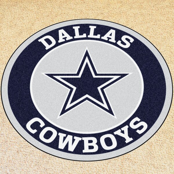 NFL Dallas Cowboys Roundel Mat by FANMATS