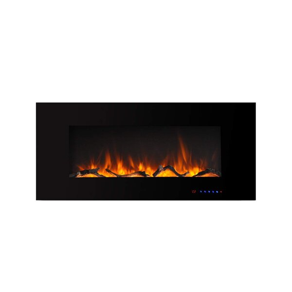 Nishant Wall Mounted Electric Fireplace By Ebern Designs