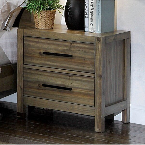 Atchison 2 Drawer Nightstand by Foundry Select