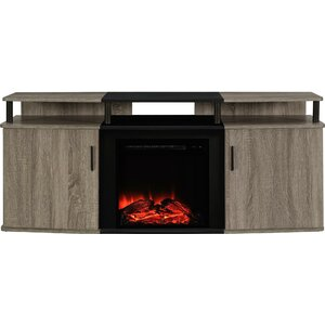 Elian 63 TV Stand with Fireplace