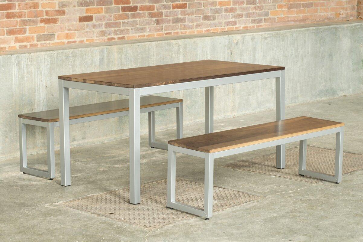 3 Piece Dining Set Elan Furniture Loft 3 Piece Dining Set Reviews Wayfair