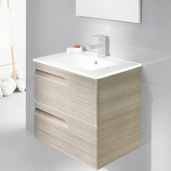 Furlow 24 Single Bathroom Vanity Set by Wrought Studio