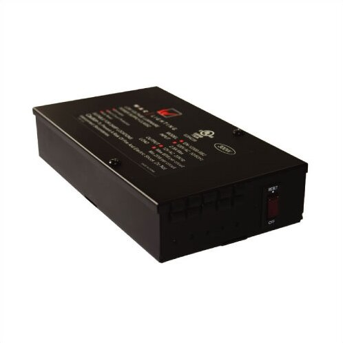 Class II Enclosed 60W 12V Electronic Transformer by WAC Lighting