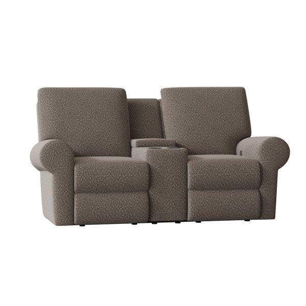 Eddison Console Reclining Loveseat By Wayfair Custom Upholstery™