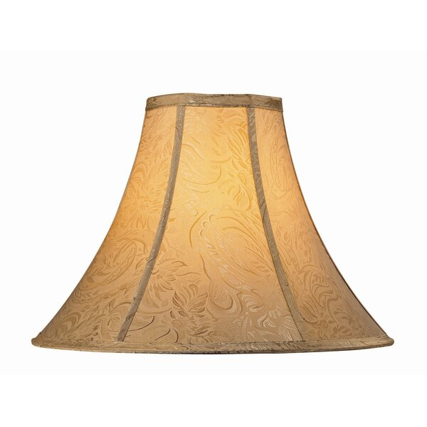 17 Jacquard Fabric Bell Lamp Shade by Astoria Grand