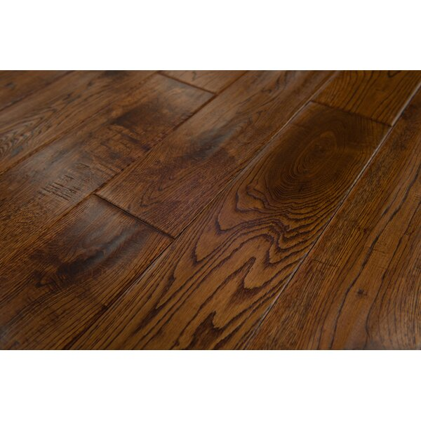 Thames 5 Solid Oak Hardwood Flooring in Chestnut by Branton Flooring Collection