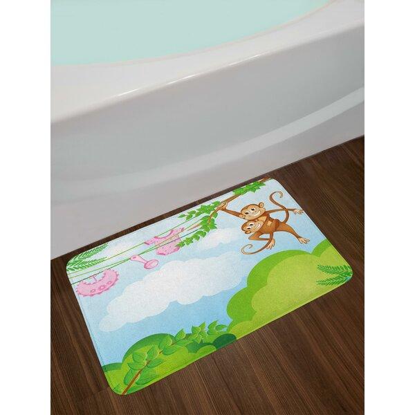 Monkey Nursery Bath Rug by East Urban Home