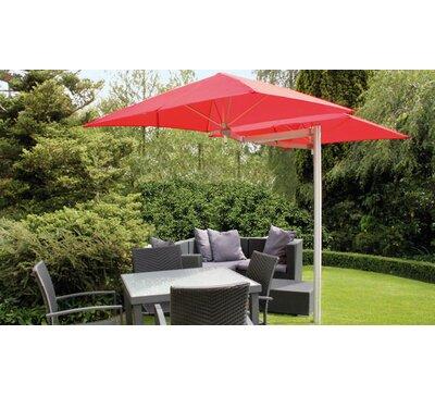 Paraflex 6u0027 Square Cantilever Umbrella