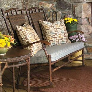 Chatham Rocking Bench with Cushions  by Woodard