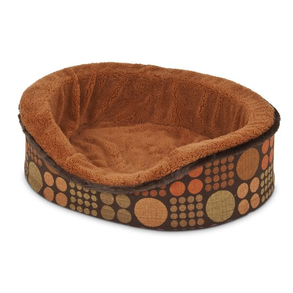 Fashion Oval Foam Lounger Dog Bed by Petmate