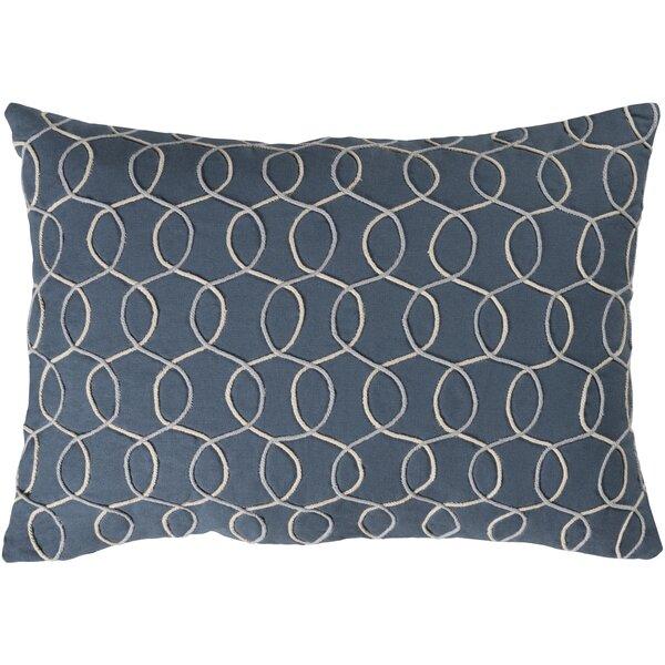 Solid Bold II Cotton Lumbar Pillow by Bobby Berk Home
