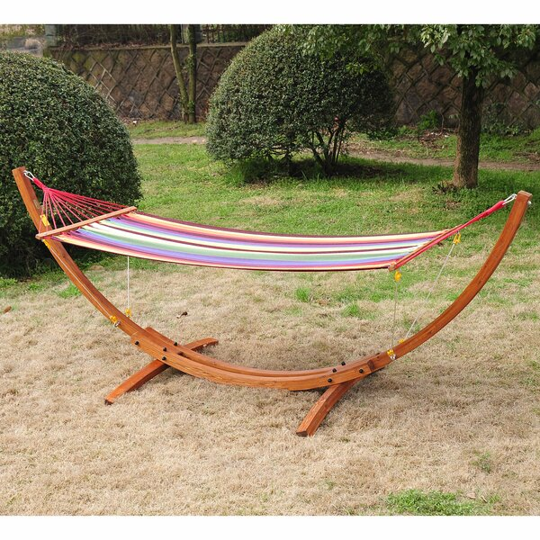 Gadson Arc Patio Chair Hammock with Stand by Brayden Studio Brayden Studio