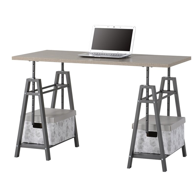 Shannon Height Adjustable Writing Desk Amp Reviews Birch Lane