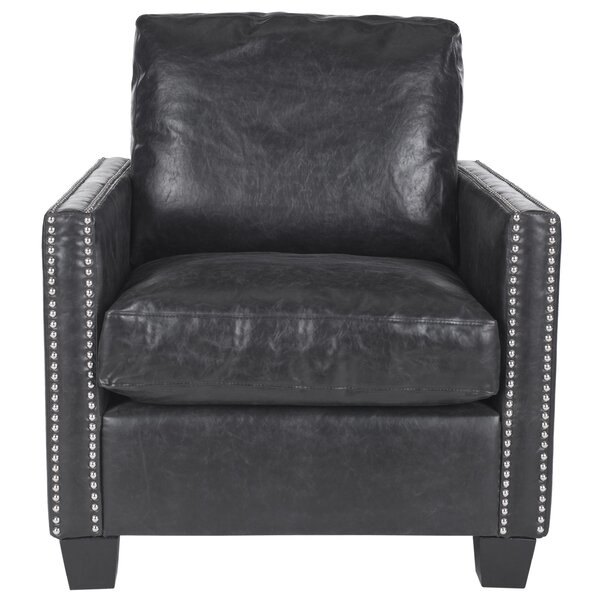 Schwarz Club Chair by Ivy Bronx