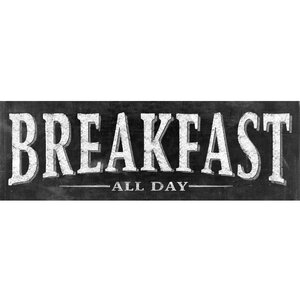 'Breakfast 2' by IHD Studio Textual Art on Wrapped Canvas by Portfolio Canvas Decor