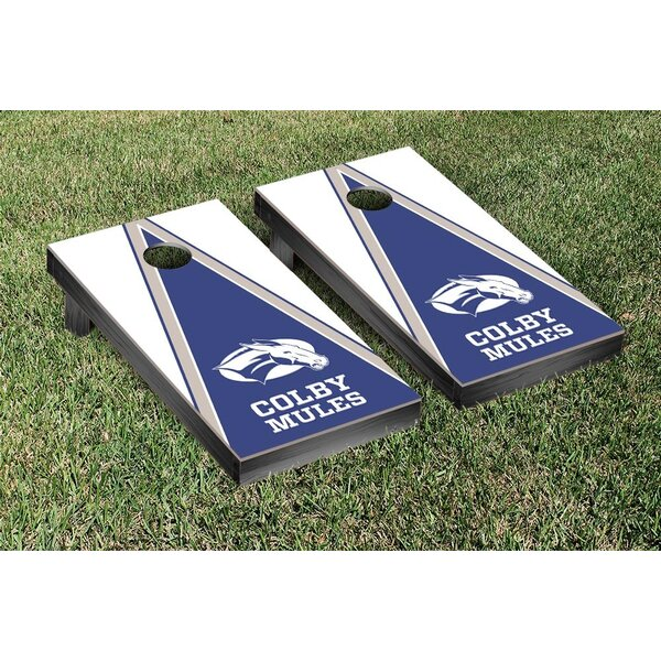 NCAA Triangle Version Cornhole Game Set by Victory Tailgate