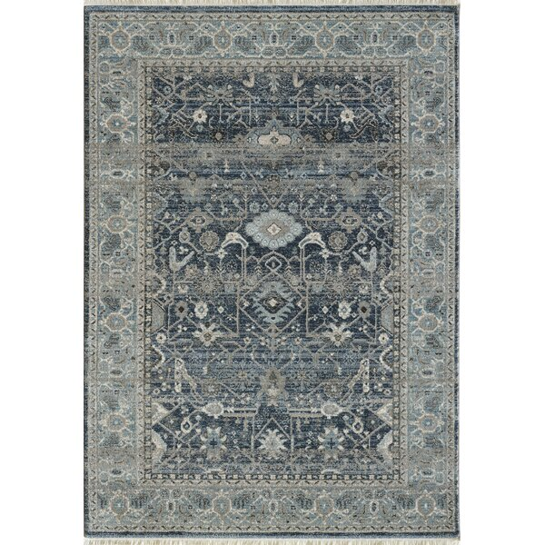 Omarion Blue Area Rug by Astoria Grand