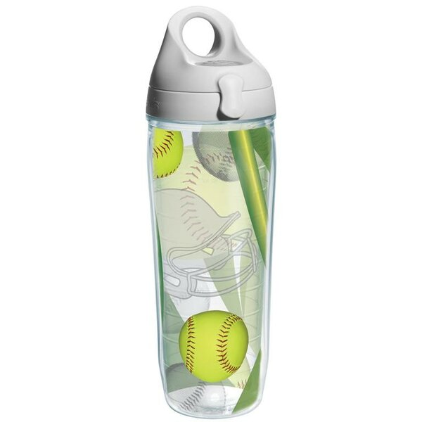 Game On Softball Water Bottle Plastic by Tervis Tumbler