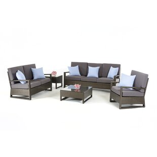 Durgan 5 Piece Sofa Set By Ebern Designs