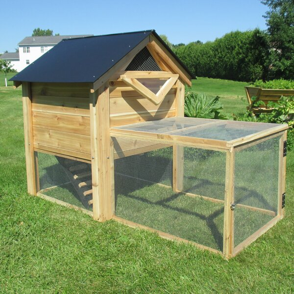 The Ultimate Backyard Chicken Coop with Chicken Run by Infinite Cedar