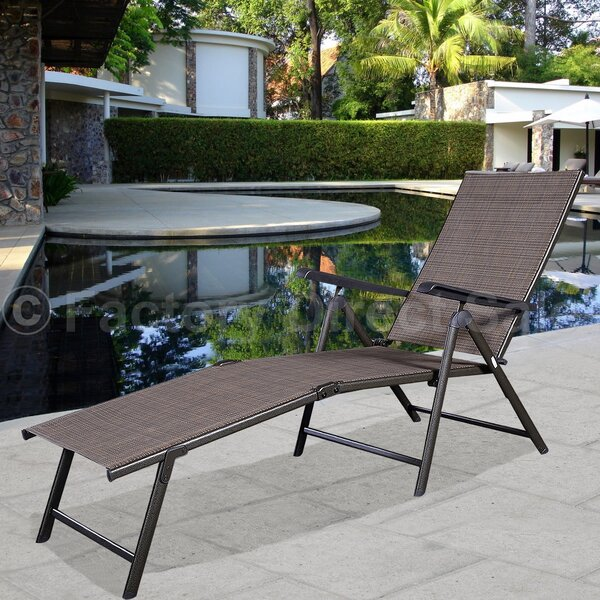Stanleytown Adjustable Reclining Chaise Lounge