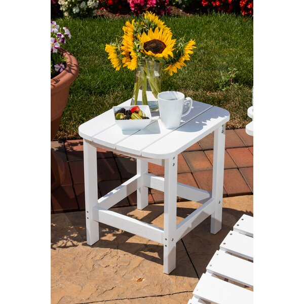Anika Adirondack Side Table by Rosecliff Heights