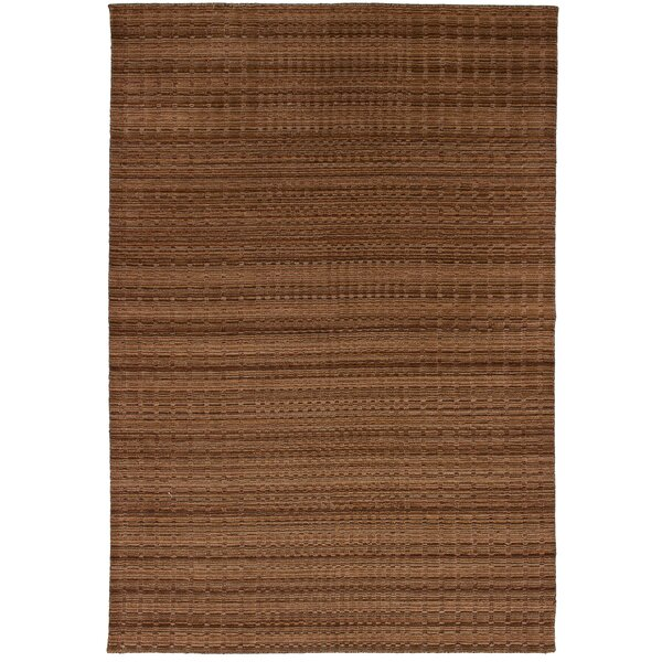 One-of-a-Kind Eibhlin Hand-Knotted Wool Tan Area Rug by Isabelline