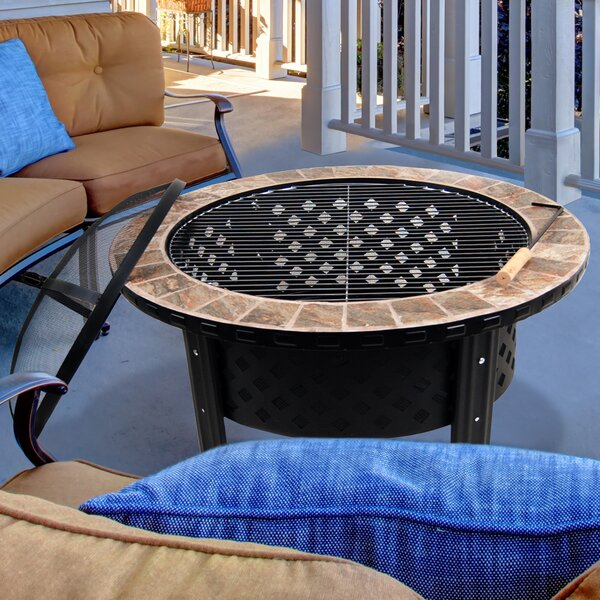 Stainless Steel Wood Burning Fire Pit by Astella
